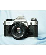 Canon AE-1 Program Professional 35mm SLR Camera c/w 50mm Lens - Nice Set -TESTED - $131.25
