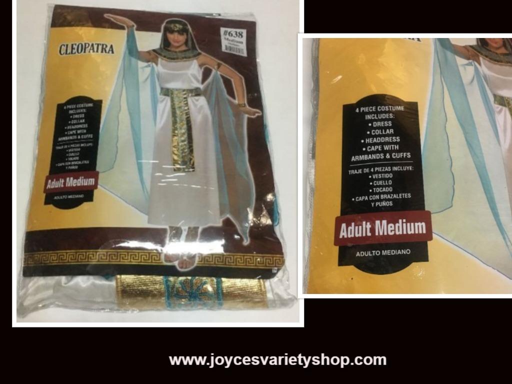 Cleopatra costume web collage