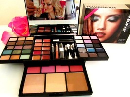 Victoria Secret Hello Bombshell Makeup Kit 55 Must Haves for Eye Lips and Face - $199.99