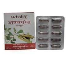2 Pack Patanjali Ayurvedic Ashavagandha Capsule Natural Nutrients Herbal... - $21.77