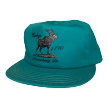Vintage 80s Moose Lodge 1790 Mercersburg Pennsylvania Snapback Trucker H... - $29.69
