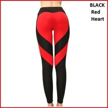 Love Heart Bottom Ladies High Waist Skin Tight Stretch Yoga Workout Leggings image 7