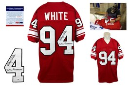 Randy White Autographed SIGNED Jersey - PSA/DNA Authentic - Red - $128.69