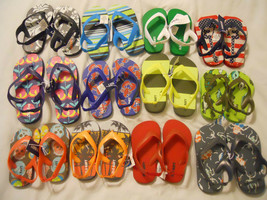 Old Navy Sandals Flip Flops Shoes Toddler Baby Kids Boys Girls - $7.98