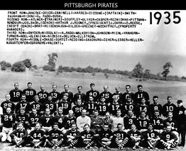 1935 Pittsburgh Steelers 8X10 Team Photo Nfl Football Picture Pirates - $3.95