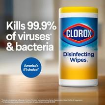 Clorox Disinfecting 85 Wipes Lemon Scent Kills 99.9% Bacteria - $24.00