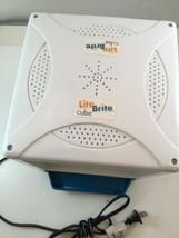 Lite Brite Cube Hasbro 2001 Model 06511 Works Bright White Activity Cube  - $15.33