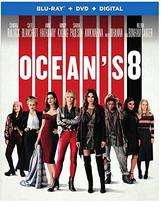 Ocean's 8 [Blu-ray+DVD+Digital, 2018]
