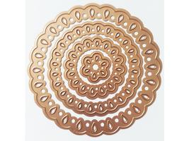 Spellbinders Nestabilities Teardrop Circles Dies, Set of 4 #S4-344 image 1