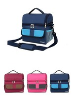 Double Layer Fashion Portable Multi Function Food Bag Thermal Picnic Cooler - €17,82 EUR