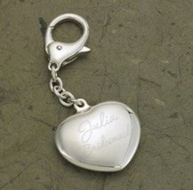 JDS Marketing and Sales BL636 Heart Silver Plated Keychain - $25.23