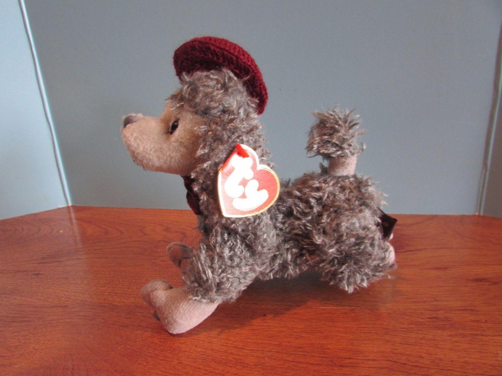 9e78ab7250c Ty Beanie Babies Baby Plush Grey Poodle and 33 similar items