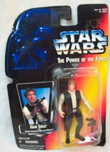 VINTAGE Star Wars The Power Of The Force HAN SOLO Action Figure Toy 1995... - $14.85