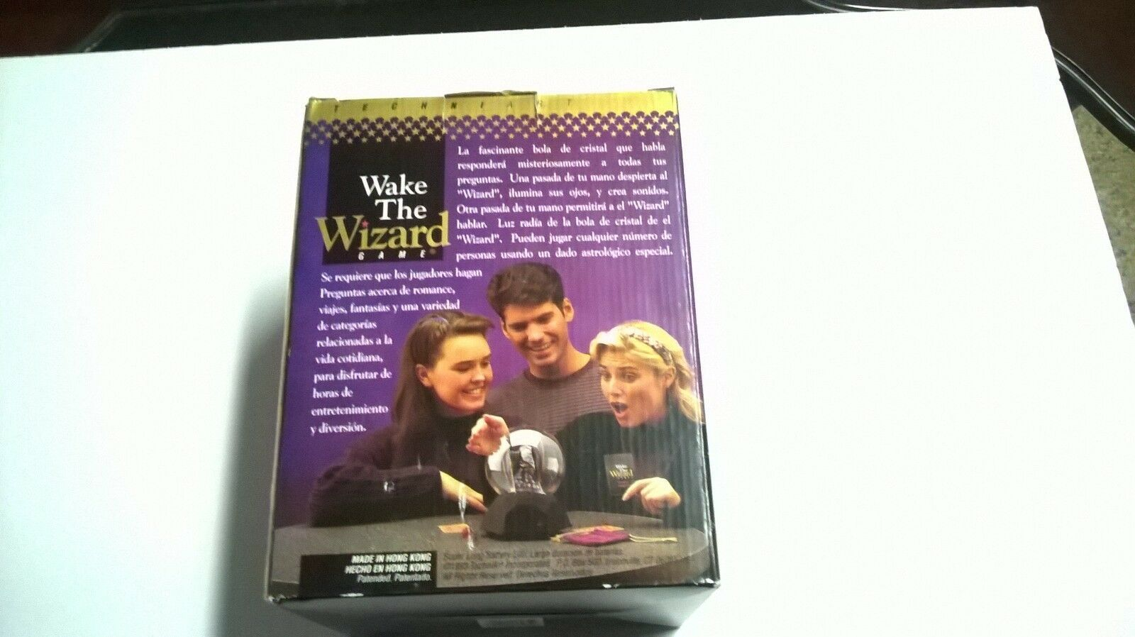 Brand New Rare Htf SPANISH Wake The Wizard Talking Crystal Ball Fast Free Ship
