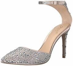 Jewel Badgley Mischka Women's JIMENA Shoe, champagne, M080 M US - $138.10