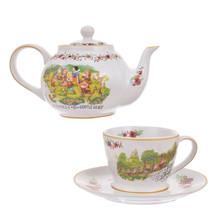 Disney store Japan Snow White and seven dwarf Teapots & cup sets FOLK WO... - $92.07