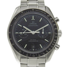 B this OMEGA Omega Speedmaster Co-Axial Mens Automatic watch behind sche... - $6,670.23