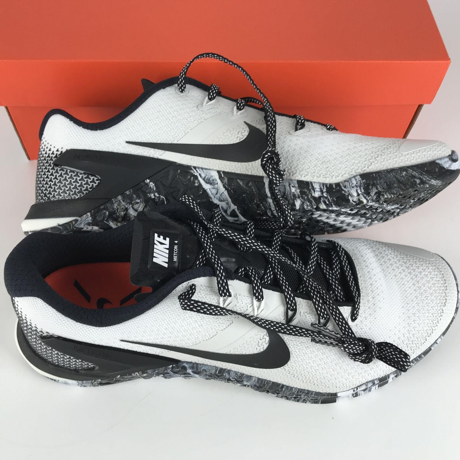 Nike Metcon 4 Running Shoes 11 White/Black-Sail AH7453 101 image 6