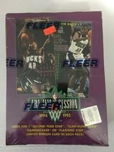 1994-95 Fleer Jam Session Box Basketball Factory Sealed / 36 Packs - $23.65
