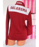 PINK VICTORIA'S SECRET Collegiate Collection Oklahoma Sooners Sweat Jack... - $47.99
