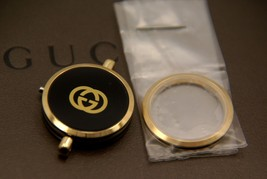 New Gucci Replacement Case, Bezel & Crystal 2000 L - Black Piping - $99.95