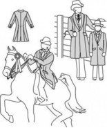 Suitability 5172 Womens & Childrens Saddle Suit Coat Equestrian Sewing P... - $16.00