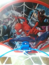 Marvel Spiderman Mini-Sized Basketball Goal (Hangs Over the Door) - $4.94