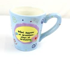 What happens at Grandma's ceramic Coffee Tea Mug - $30.00