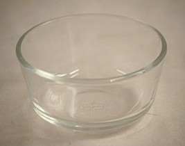 Anchor Hocking Fire King Clear Glass Custard Cup Ramekin Vintage MCM USA - $8.90