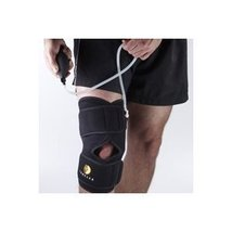 Corflex Cryo Pneumatic Inflatable Knee Brace with Cold Therapy-0 Gels - Black - $33.09