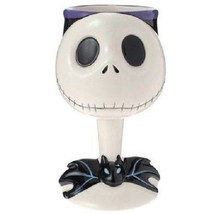 Disney Store Japan Limited Nightmare Before X'mas Jack Cobret large wine glass - $101.97
