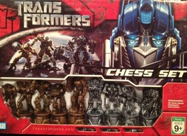 Hasbro Transformers Chess Game Set 2007 robots Parker Brothers  - $37.77