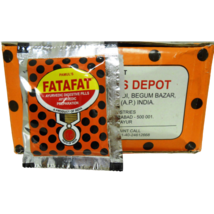 4 Lot Pamul's Fatafat Ayurvedic Digestive Pills 15g Pouch - $7.45