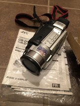 Jvc GR-DVL820U Camcorder Silver w/ Battery, Charger, Sd Card & Remote, For Parts - $49.99