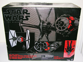 """Star Wars First Order Special Forces Tie Fighter 6"""" Scale Figure Error NEW - $98.94"""