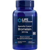 NEW Life Extension Specially-Coated Bromelain 500 Mg 60 Enteric Coated Tablets - $18.01