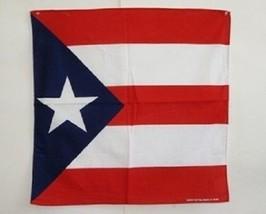 "22""x22"" Puerto Rico Rican Bandana Premium Polyester - $6.88"