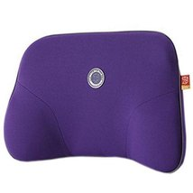 Comfortable Back Support Lumbar Support Soft Car Seat Cushion Back Brace Purple