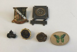 Vintage Mix Pins Lot Of 6 - $14.03