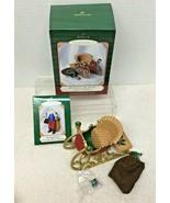 2001 Santas Sleigh w Mini Ornament Hallmark Christmas Tree Ornament MIB ... - $14.36