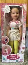 """Wispy Walker Walking Doll 31"""" Doll Blond Hair Blue Eyes - $43.65"""