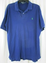 Men's Large L Blue Ralph Lauren Polo Shirt - $14.84