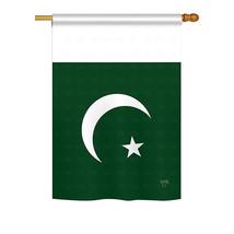 "Pakistan - 28"" x 40"" Impressions House Flag - H108271 - $36.87"