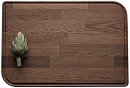 Legnoart Rialto Thermo Ash Wood Cutting Board, 18 by 12 by 1-Inch, Brown - $44.33