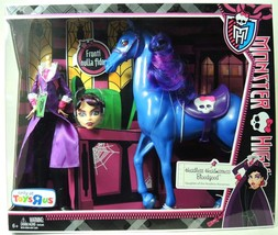 Monster High - Headless Headmistress Bloodgood Doll and Nightmare Horse Set - $89.24