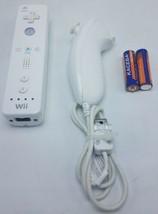 Nintendo Wii Remote  & Nunchuk &  Fresh Batteries Bundle TESTED - $21.95