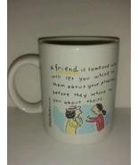 Shoebox greetings Hallmark Cards Collectible friendship Coffee Tea mug C... - $22.76