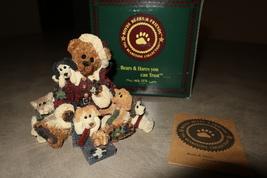 """Boyds Bears Bearstone Figurine """"Kringle and Company"""" - $25.00"""
