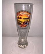 """Sundance Amber Ale Pilsner Glass BOULDER BEER 8 3/8"""" - $5.00"""