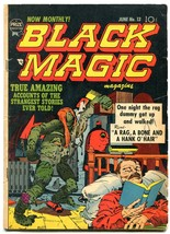 Black Magic #13 1952- Jack Kirby art- Pre code horror VG- - $155.20